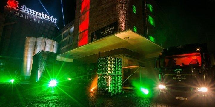 Herrenhäuser Brauerei grün