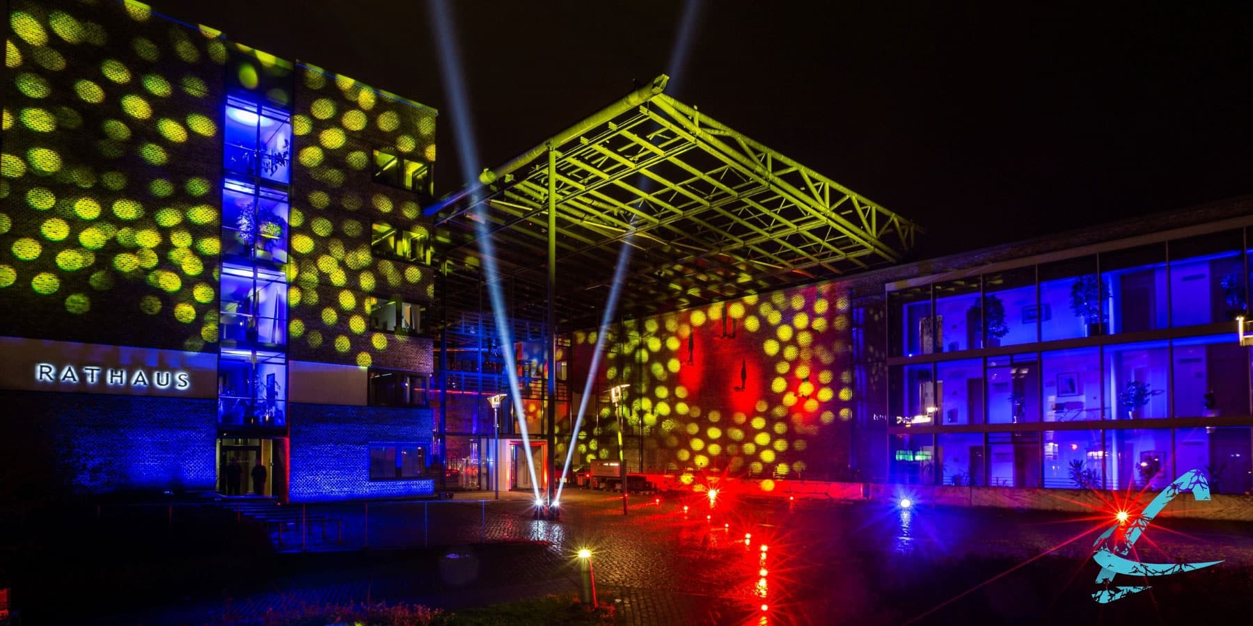 Beleuchtung Rathaus Garbsen