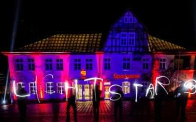 Allstars illuminiert den Gifhorner Weihnachtsmarkt